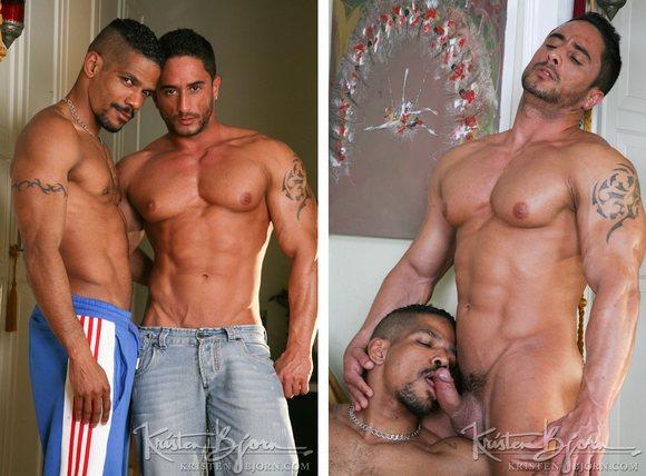 Gerald fabiani getting fucked Muscle Bottom Robin Sanchez Gets Fucked By Gerald Fabiani