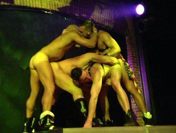 Berlin live sex show Ariel X