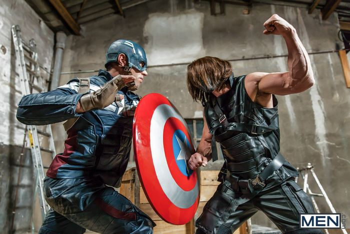 Gay captain america getting fucked Captain America Gets Fucked By Winter Soldier Starring Alex Mecum Paddy O Brian In Captain America Gay Xxx Parody