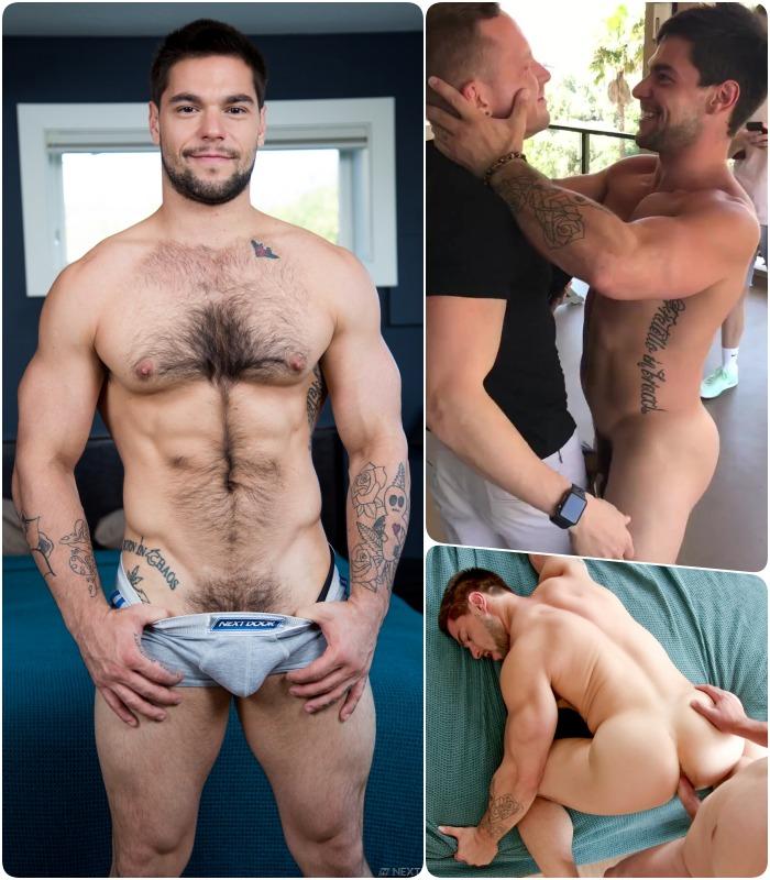 Gay porn star gets fucked Gay Porn Star Aspen Fucks Cameron Dalile S Pants Pocket And Gets Fucked Bareback By Elye Black