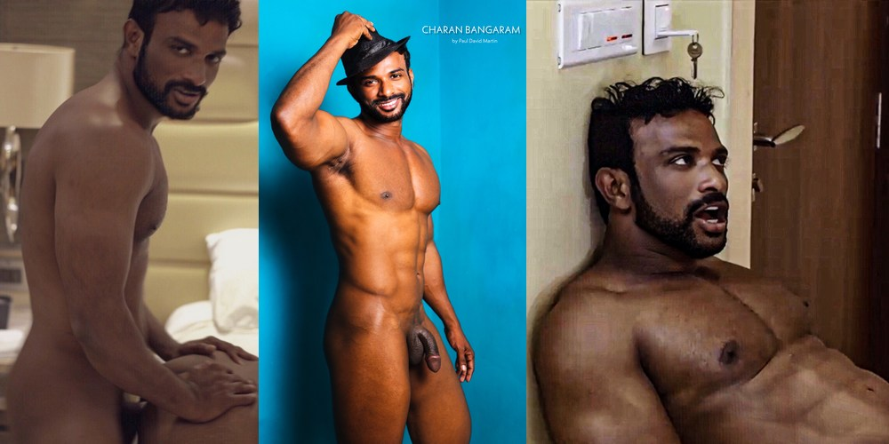 Gay indian porn pictures Charan Bangaram An Interview With Indian Gay Porn Star